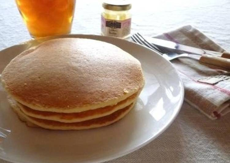 10 Minute Step-by-Step Guide to Make Quick Healthy ☆ Okara Rice Flour Pancakes
