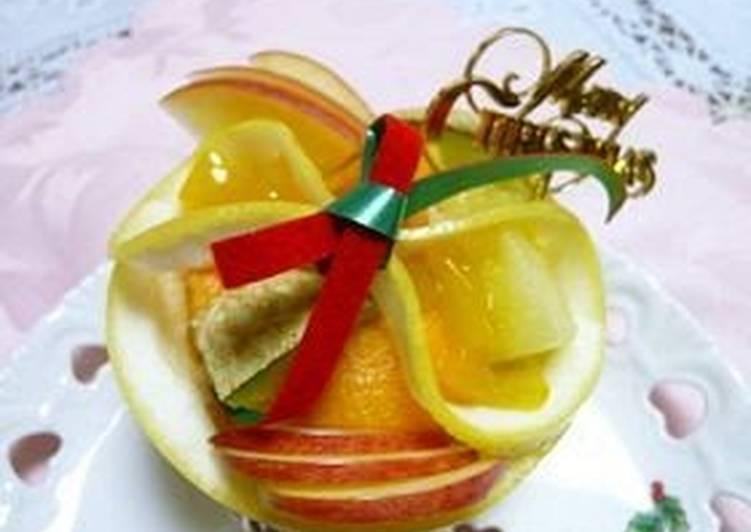 Easiest Way to Cook Perfect Christmas Fruit Basket