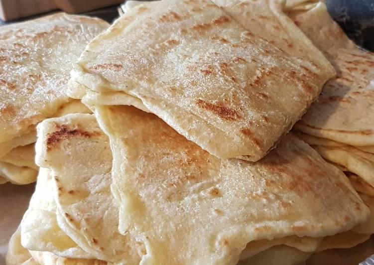 Comment Cuisiner 47• 🥞 Msemen (crêpes feuilletées) 🍴