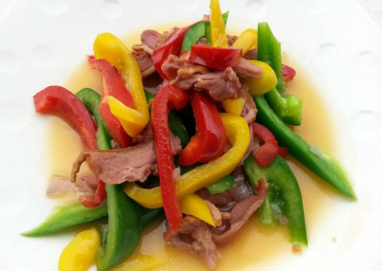 Turn to Food to Elevate Your Mood Bell Pepper And Smoked Duck