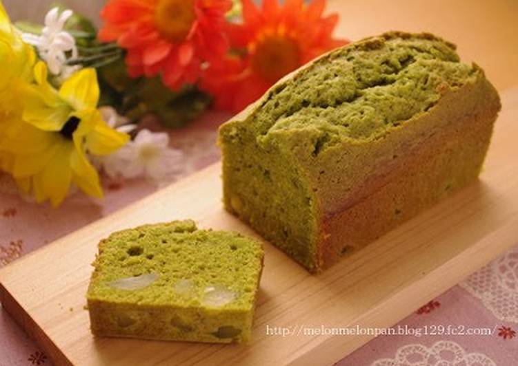 Steps to Prepare Top-Rated Matcha Pound Cake with Sweet Chestnuts