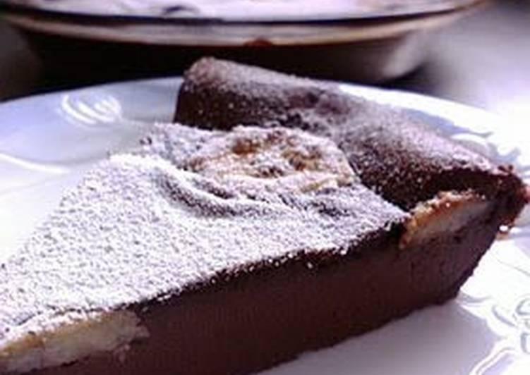 Chocolate-Flavored Banana Clafouti