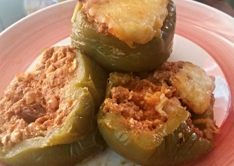 Stuffed Peppers - Greek Style