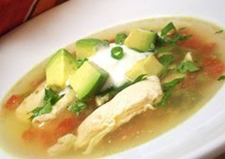 Knowing These 10 Secrets Will Make Your Avocado Soup with Chicken and Lime