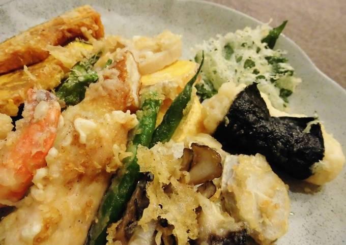 Tempura Batter - Crunchy and Crispy Even Cold