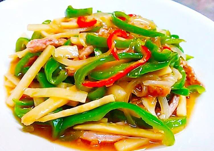 Low Calorie Chinjao Rosu (Beef and Pepper Stir-Fry), Helping Your Heart with Food