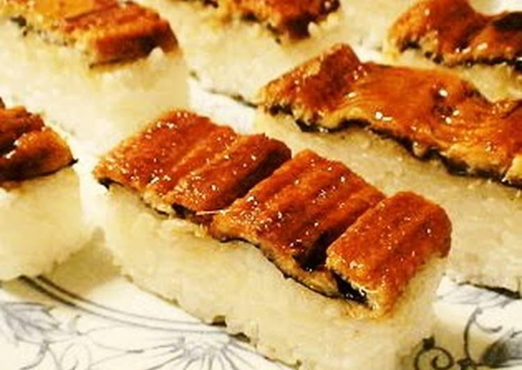 Easy Box-Pressed Eel Sushi