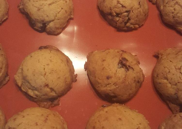 Soft chocochips cookie