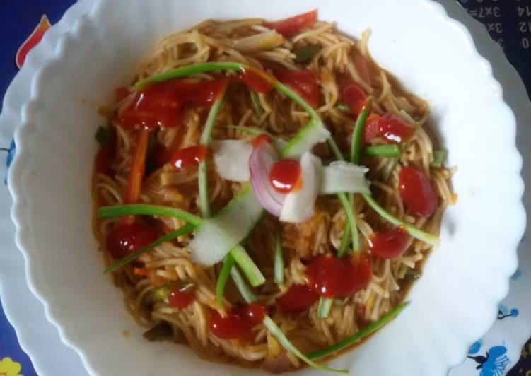 Foods That Can Make You Happy Soupy veg noodles..