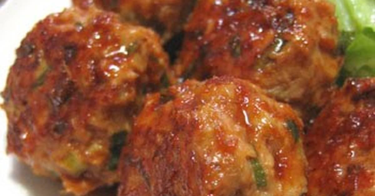 Ginger Fried Pork Meatballs
