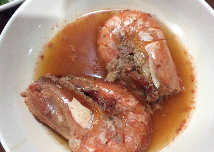 How to Make Delicious Sweet & Salty Steamed Shrimps