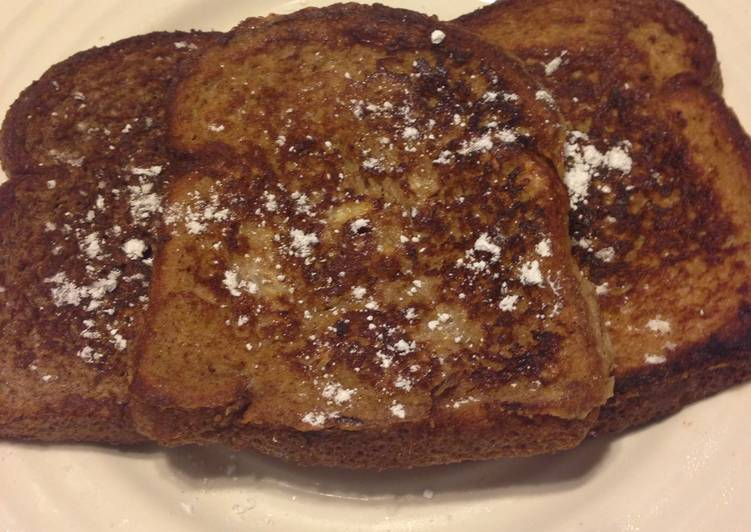 Fall Inspired: Pumpkin Pie Spice French Toast