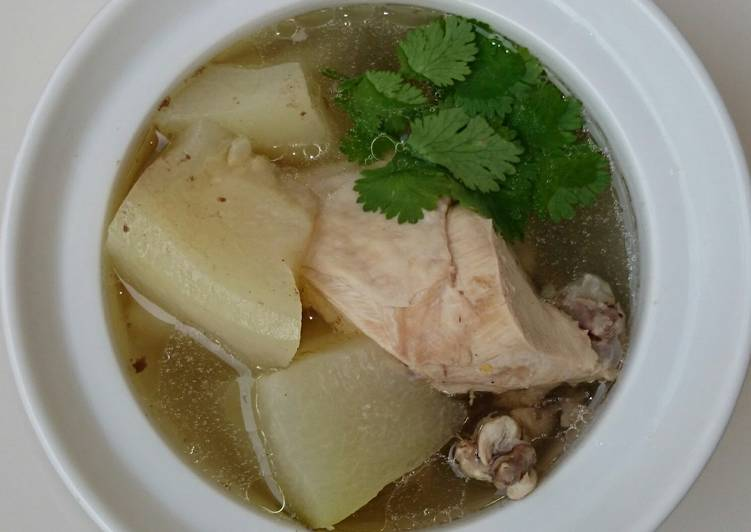 Winter Melon Chicken Soup