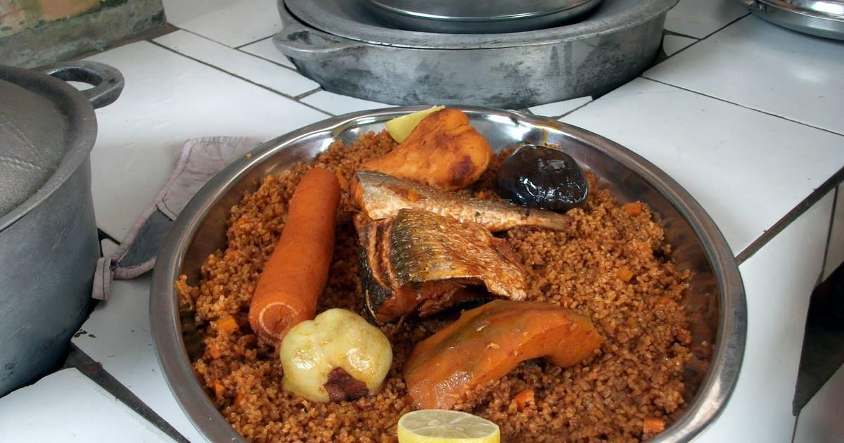 Benachin Or Jollof Rice From Senegambia (Gambia-Senegal)