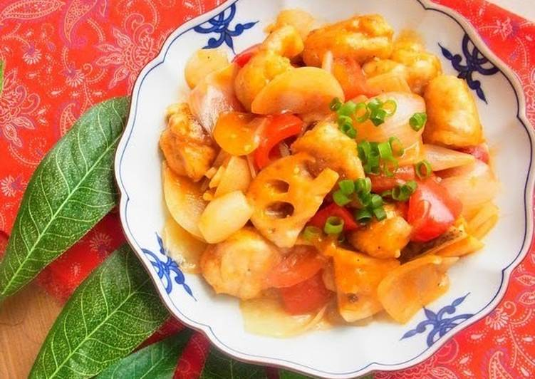 Tender & Juicy, Sweet and Sour Chicken Breast