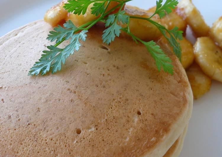 10 Minute Easiest Way to Prepare Winter Macrobiotic Pancakes