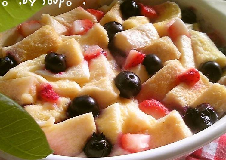 Recipe of Award-winning Sweet Temptation! Microwaved Bread Pudding