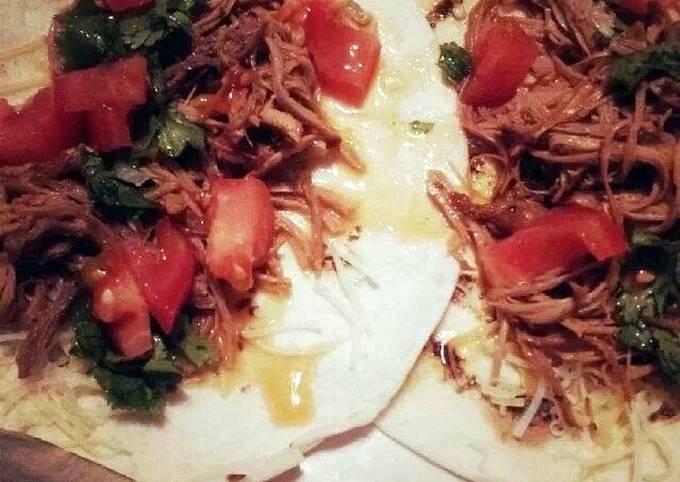 Shredded Southwest  Pork Roast for Tacos