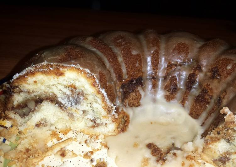 Simple Way to Prepare Speedy Sour Cream Coffee Cake