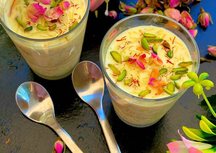 Turn to Food to Elevate Your Mood Vanilla Custard Vermicelli