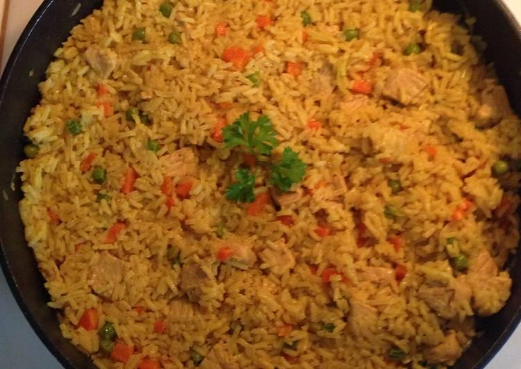 Como hacer arroz curry