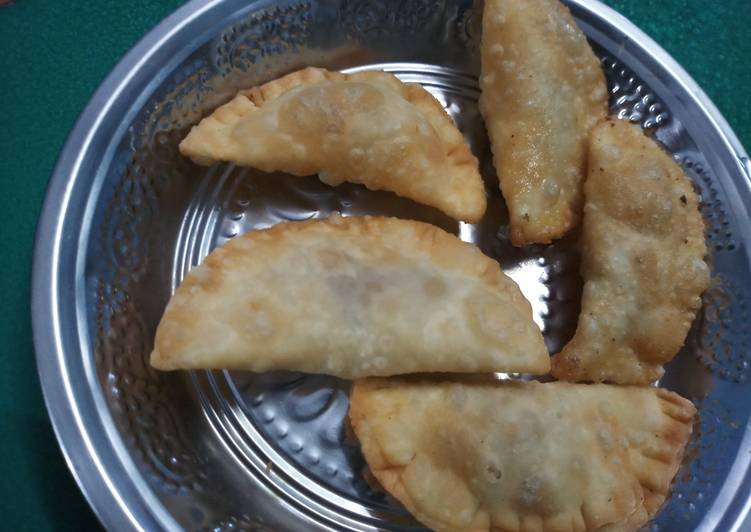 Step-by-Step Guide to Make Any-night-of-the-week Chandrakala sweet- Diwali special