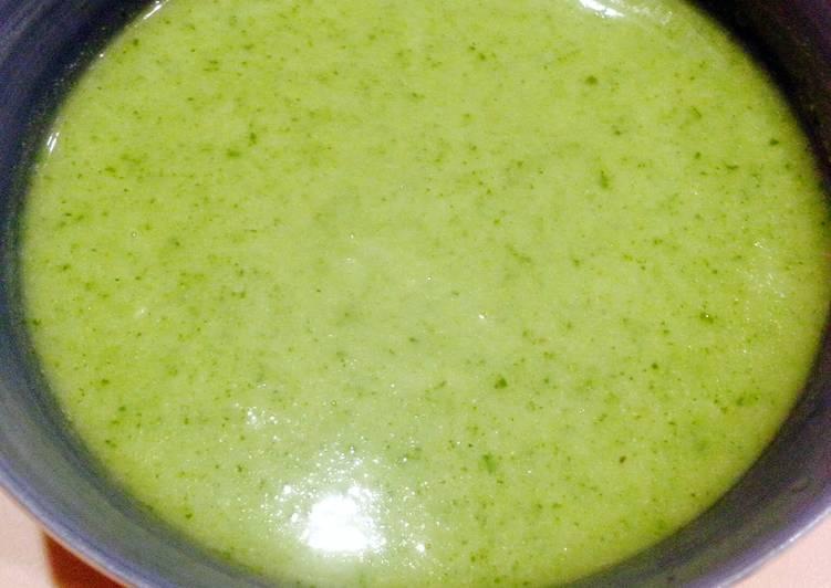 Watercress Cauliflower Soup