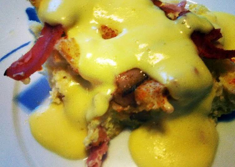 Simple Way to Make Any-night-of-the-week Eggs Benedict Casserole