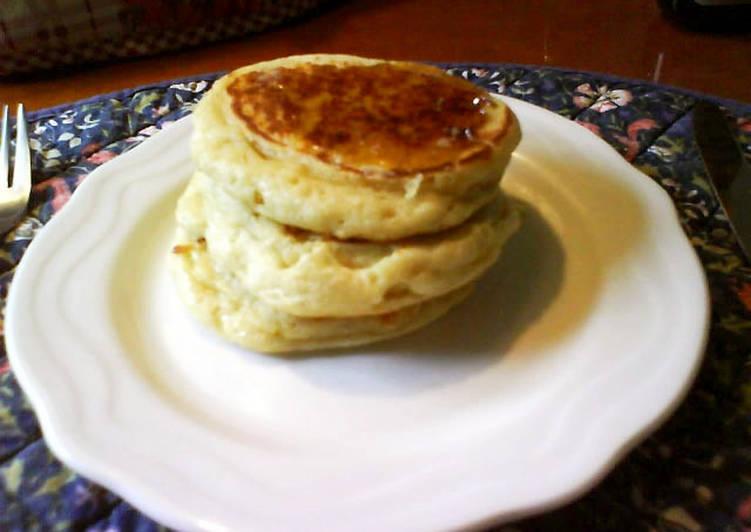 Recipe of Speedy English Crumpets