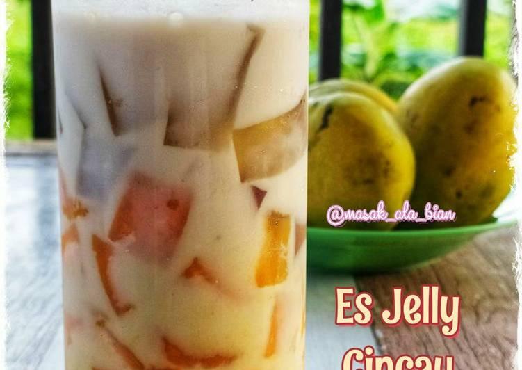 Es Jelly Cincau Mangga