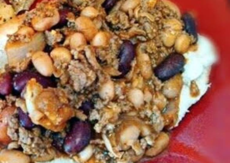 The Best Dinner Ideas Quick ~Chunky Chili with Beans~
