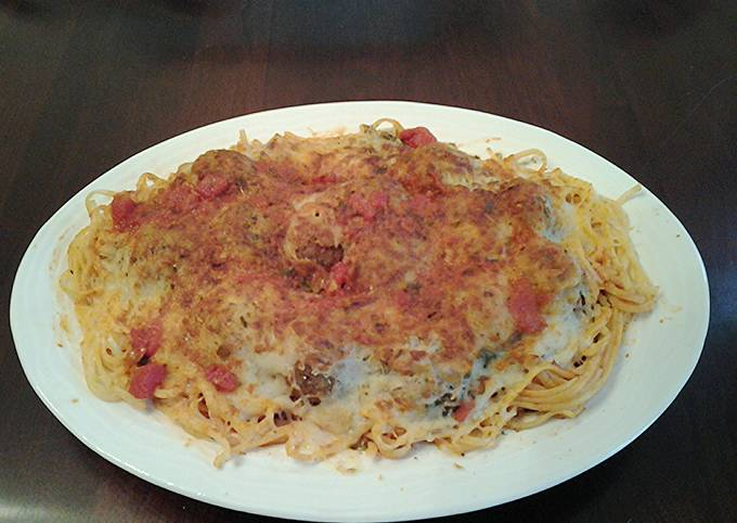 Recipe: Tasty Meatball Parmesan