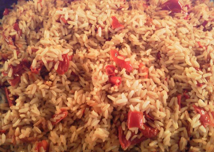 Recipe: Tasty 0ven baked brown rice