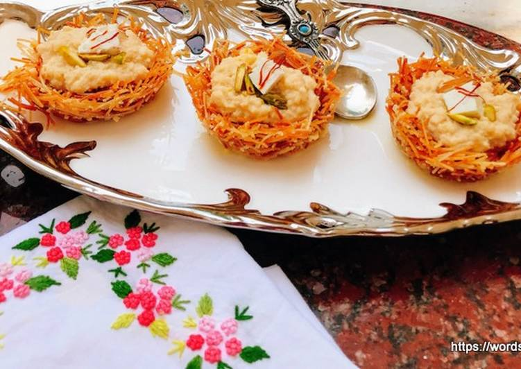 Selecting The Best Foods Can Help You Stay Fit As Well As Healthy Shahi Paneer Kunafa Pudding