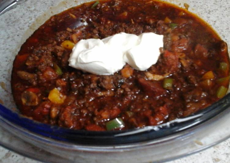 My Hot but Flavourful Chilli and Garlic Beef ☺