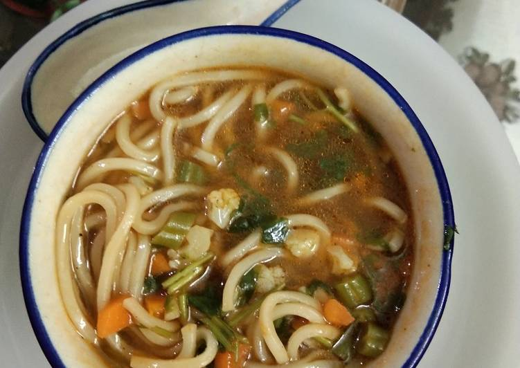 Discover How to Elevate Your Mood with Food Manchow soupy noodles