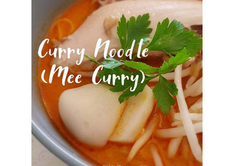 Recipe of Perfect Curry Noodle (Mee kari)