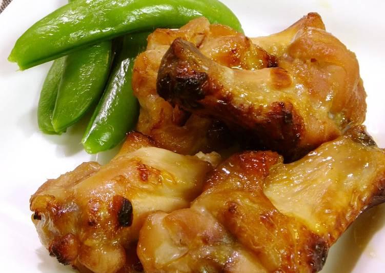 Delicious! Baked Shio-Koji Chicken Wings