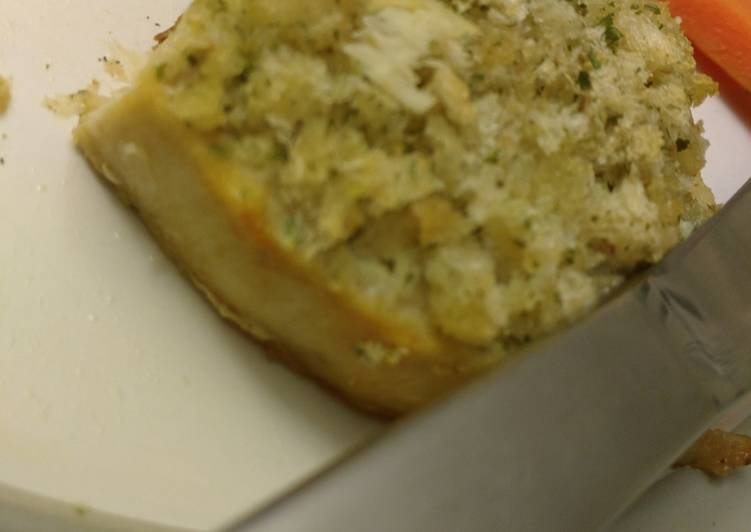 Crusty Lemon Swordfish