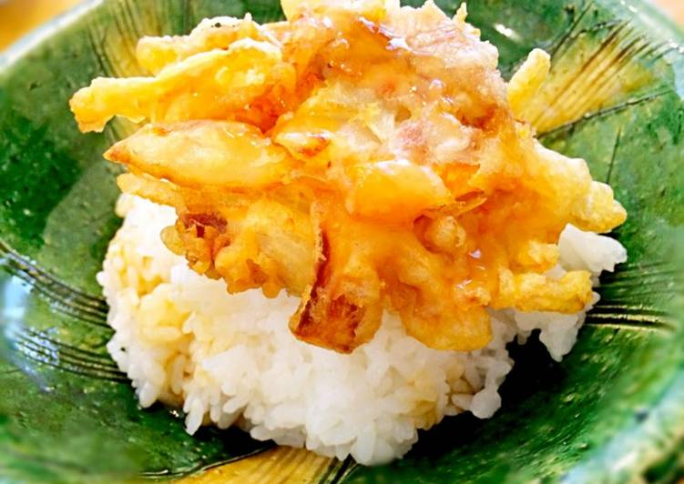 Simple Crispy Tempura Batter Recipe By Cookpad Japan Cookpad