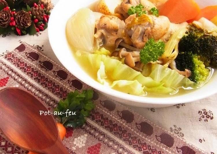 Easiest Way to Prepare Award-winning Vegetable and Chicken Pot-au-feu