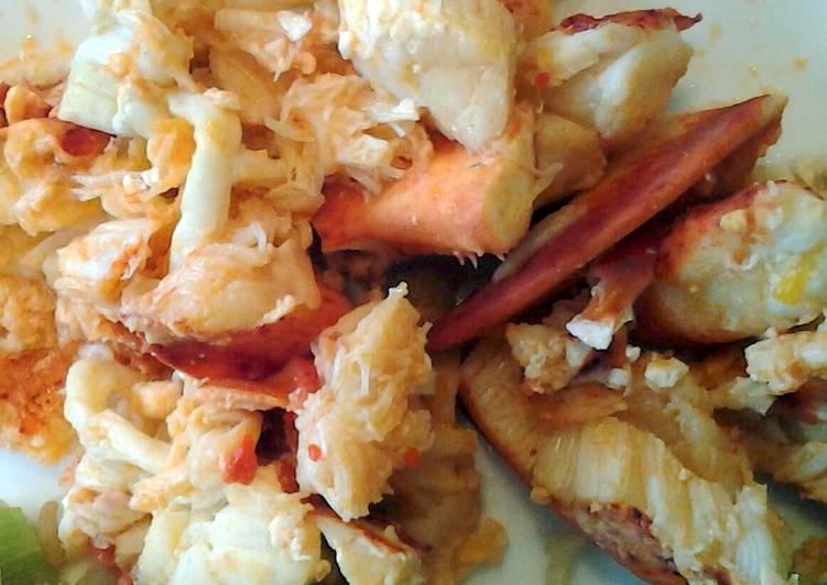 Sauteed Lobster