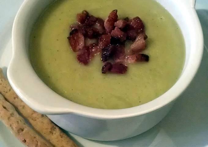 Vickys Leek & Potato Soup with Pancetta GF DF EF SF NF