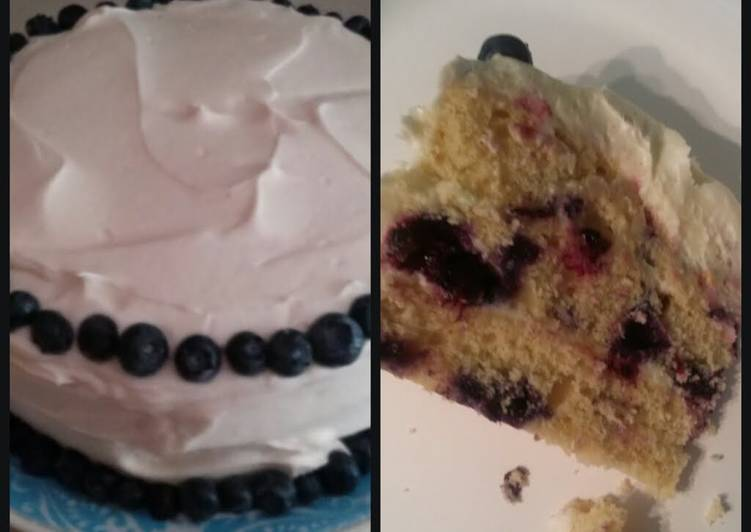 Recipe of Award-winning Blueberry Lemon Cake