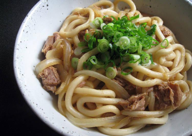 Tuna Udon Recipe By Hiroko Liston Cookpad