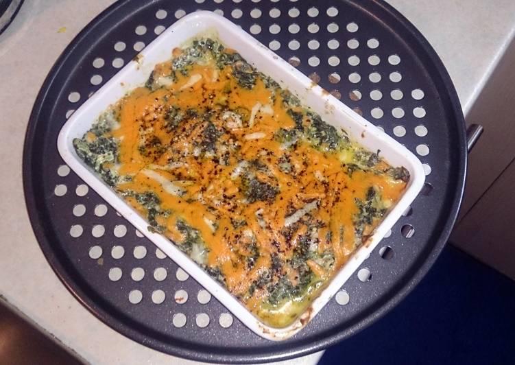 Spinach Cheese Dip (warm)