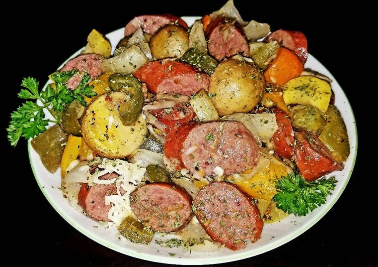Picking The Right Foods May Help You Stay Fit And Also Healthy Mike's Andouille Sausage & Vegetable Melody