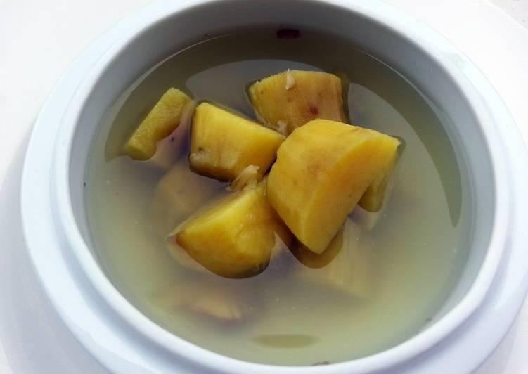 Recipe of Ultimate Swert Potato Dessert /Ginger Flavour