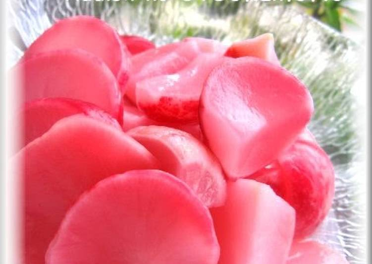 How to Make Super Quick Homemade Just Marinate Pickled Radishes