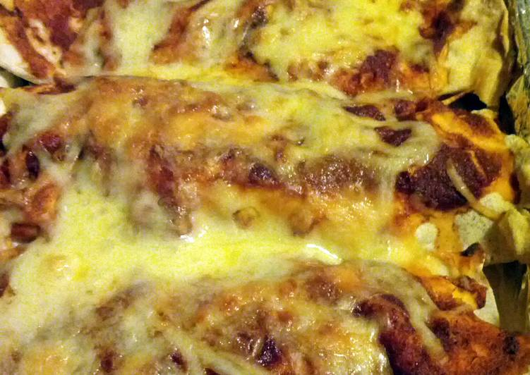 Spicy Minced Beef Enchiladas